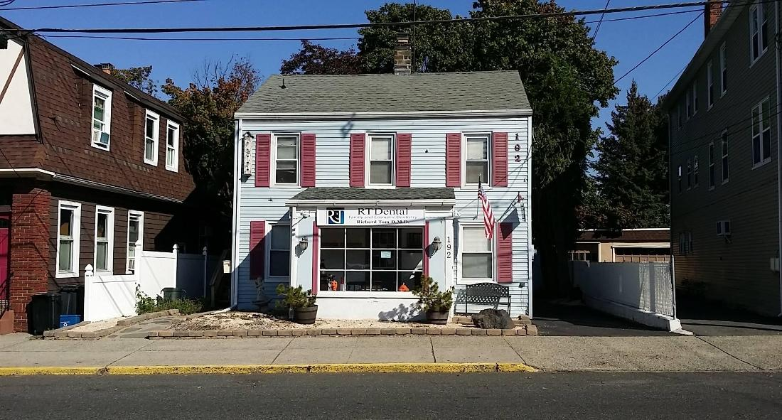 Exterior of dental office | Dentist Nutley NJ